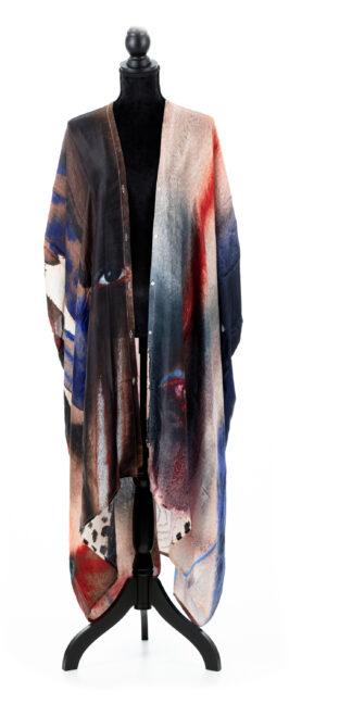 Silk kaftan, Emma Larsson