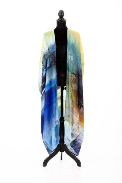 Silk kaftan, Gunnel Moheim